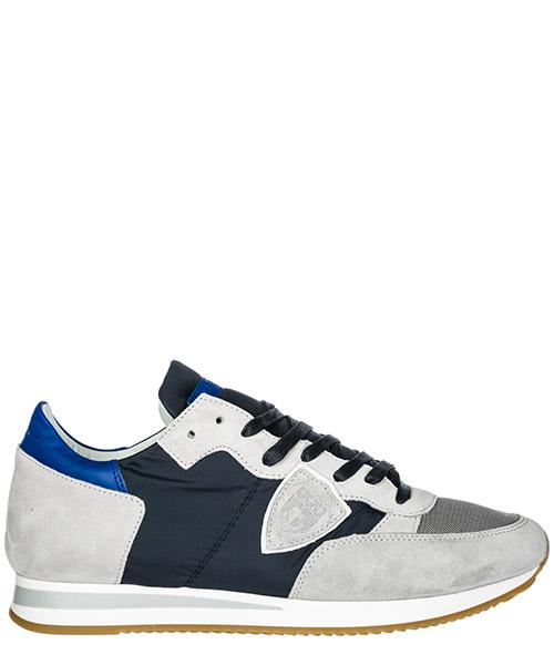 Sneakers Philippe Model Tropez A19ETRLUW103 mondial bleu gris