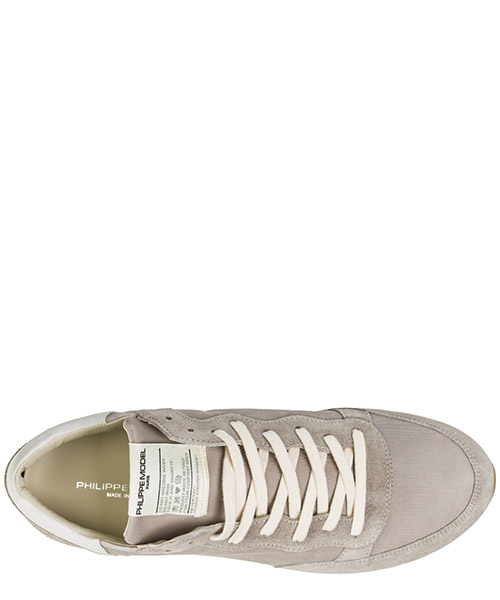 Men's shoes leather trainers sneakers tropez vintage secondary image