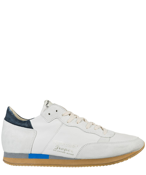 Sneakers Philippe Model Tropez Vintage A19ETVLUWW23 west blanc