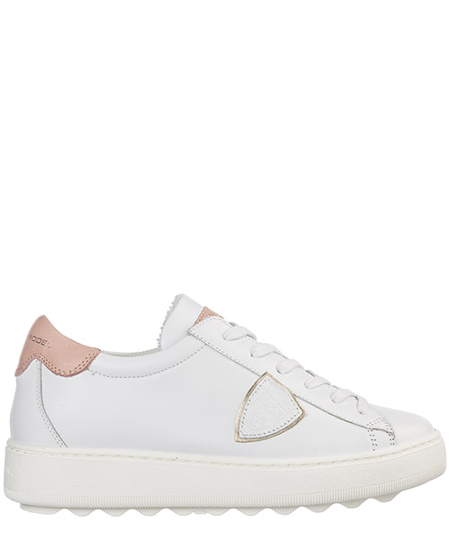 Sneakers Philippe Model madeleine a19evbldv024 blanc rose