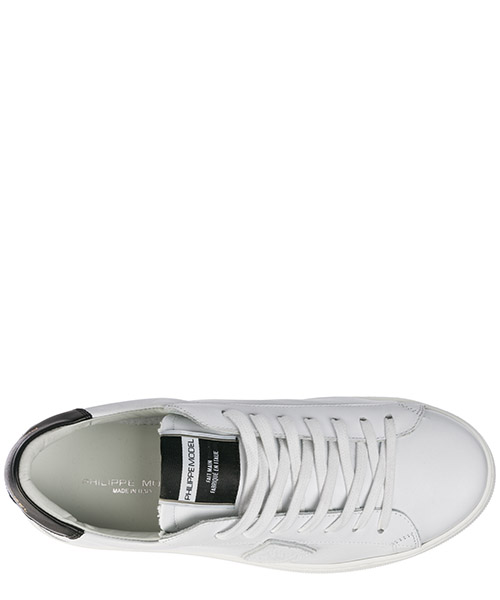Men's shoes leather trainers sneakers madeleine secondary image