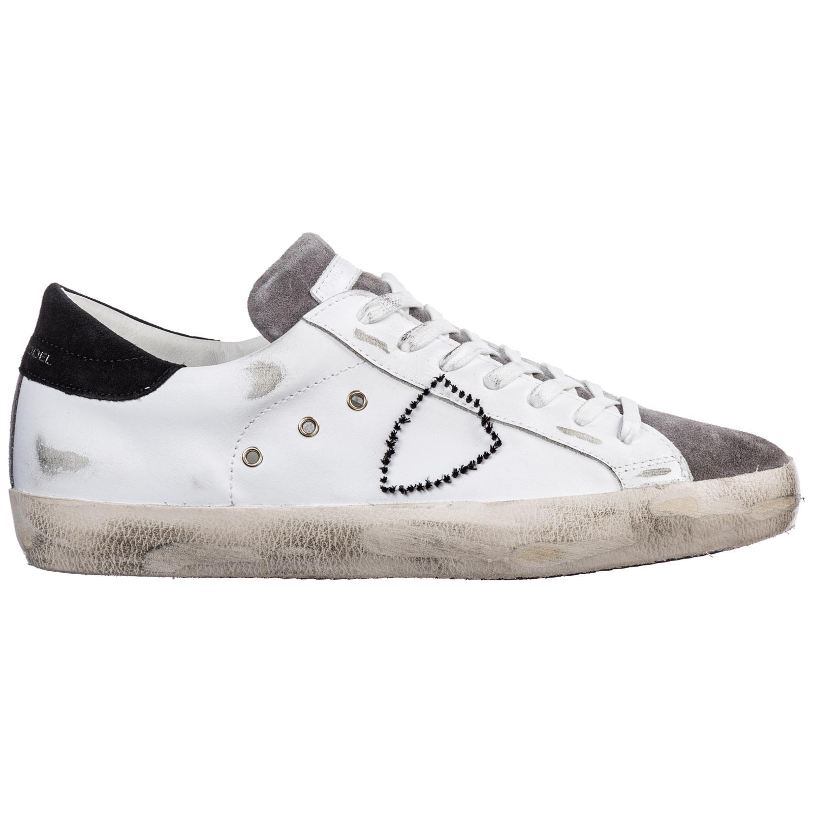 more photos 14bee c561e Scarpe sneakers uomo in pelle paris
