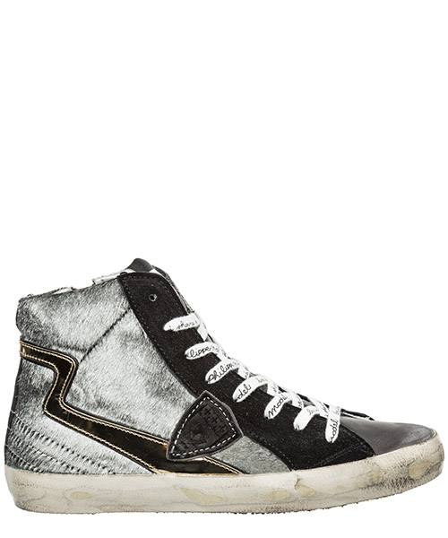 High-top sneakers Philippe Model paris CLHDLP01 grigio
