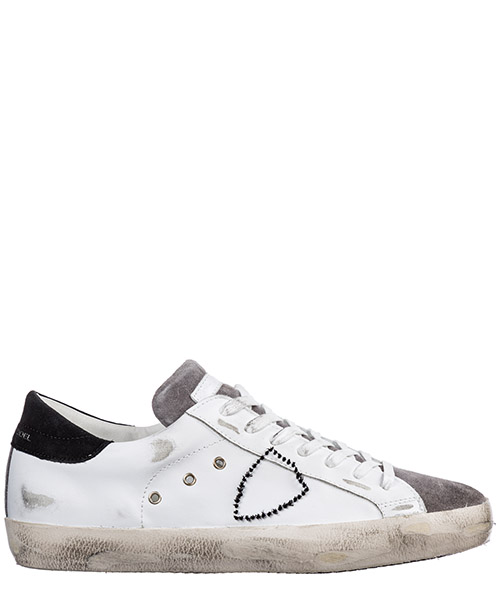 Sneakers Philippe Model paris a19iclluvx32 bianco