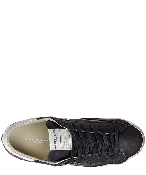 Men's shoes leather trainers sneakers paris secondary image