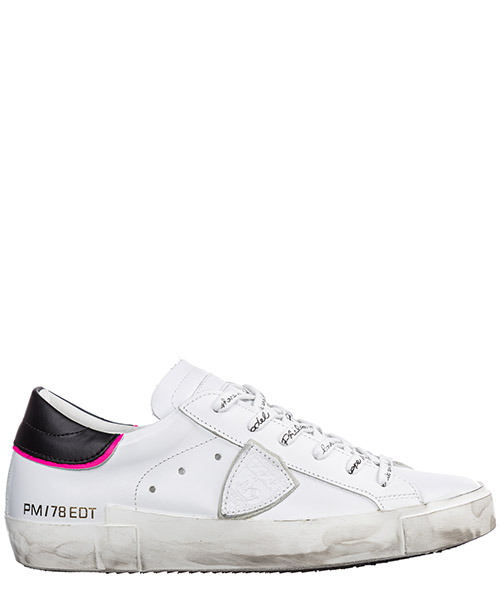 Sneakers Philippe Model paris a19iprldv004 blanc fucsia