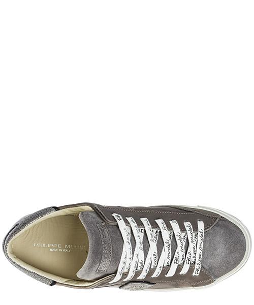 Chaussures baskets sneakers homme en cuir paris eponge secondary image