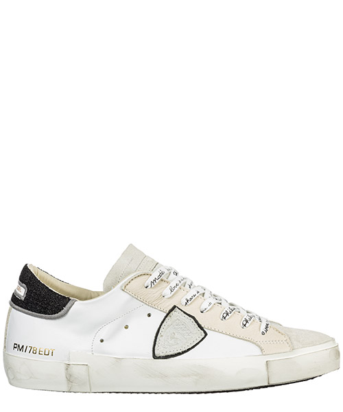 Sneaker Philippe Model Paris A19IPRLUAP09 bianco