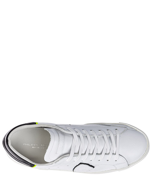 Chaussures baskets sneakers homme en cuir paris secondary image