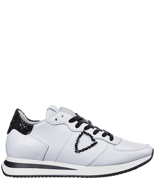 Sneaker Philippe Model Tropez A19ITZLDVG01 blanc noir