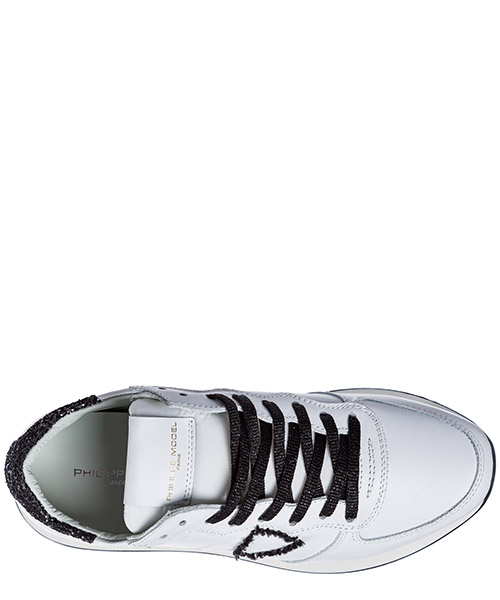 Women's shoes leather trainers sneakers tropez secondary image