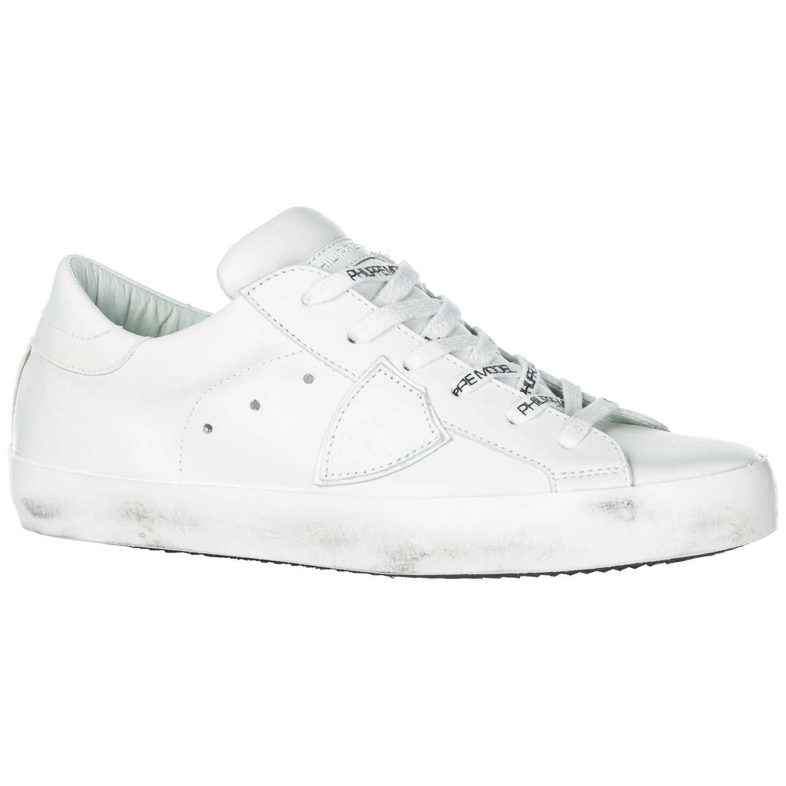 0fe7a37f72518 Sneakers Philippe Model Paris A1UNCLLD1001 blanc   blanc