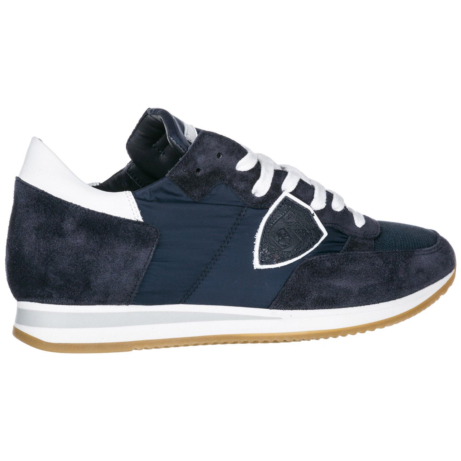 Sneakers Philippe Model Tropez A1UNTRLU1117 blu  d0a071244ea