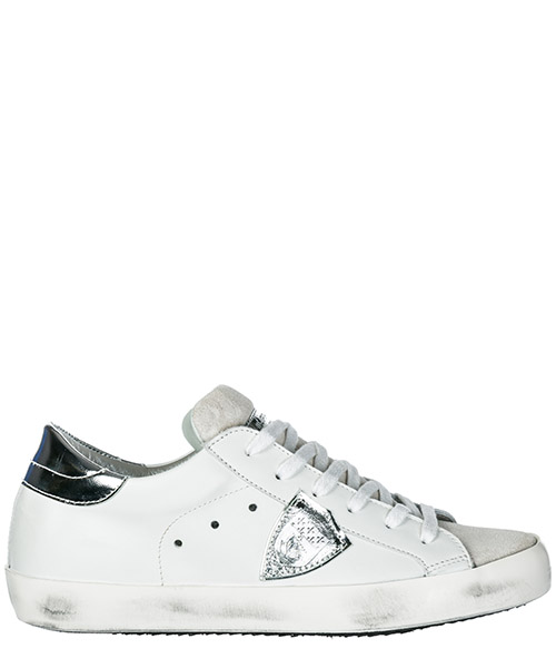 Sneakers Philippe Model Paris A1UNCLLD1005 basic blanc silver