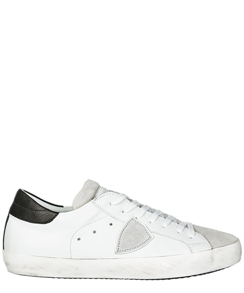 Sneakers Philippe Model Paris A1UNCLLU1003 blanc / gris