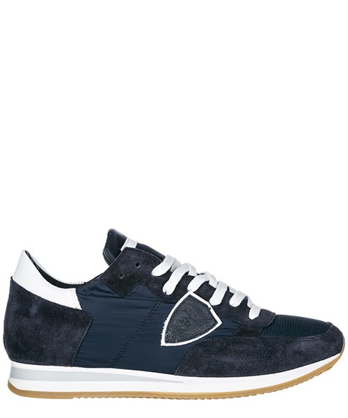 Turnschuhe Philippe Model A1UNTRLU1117 blu