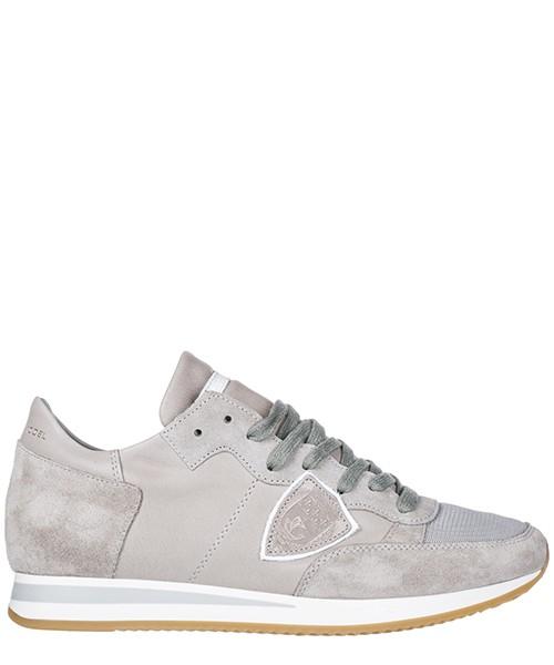 Chaussures baskets sneakers homme en daim tropez