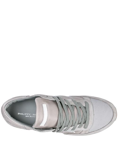 Chaussures baskets sneakers homme en daim tropez secondary image