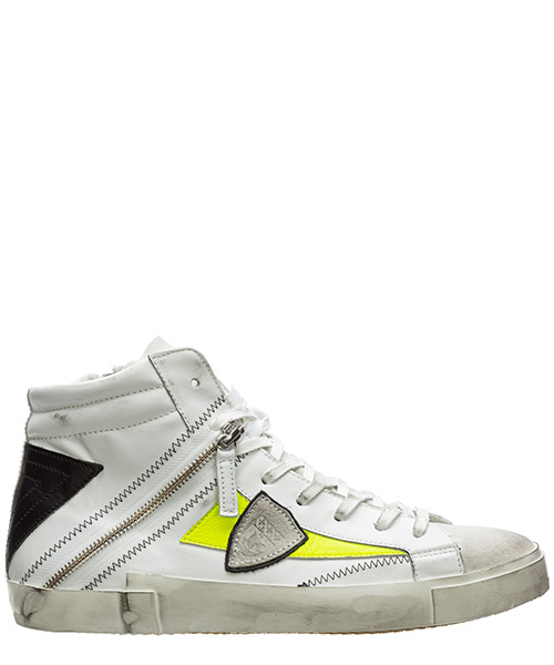Sneaker high Philippe Model bike a10ebshuvf01 bianco