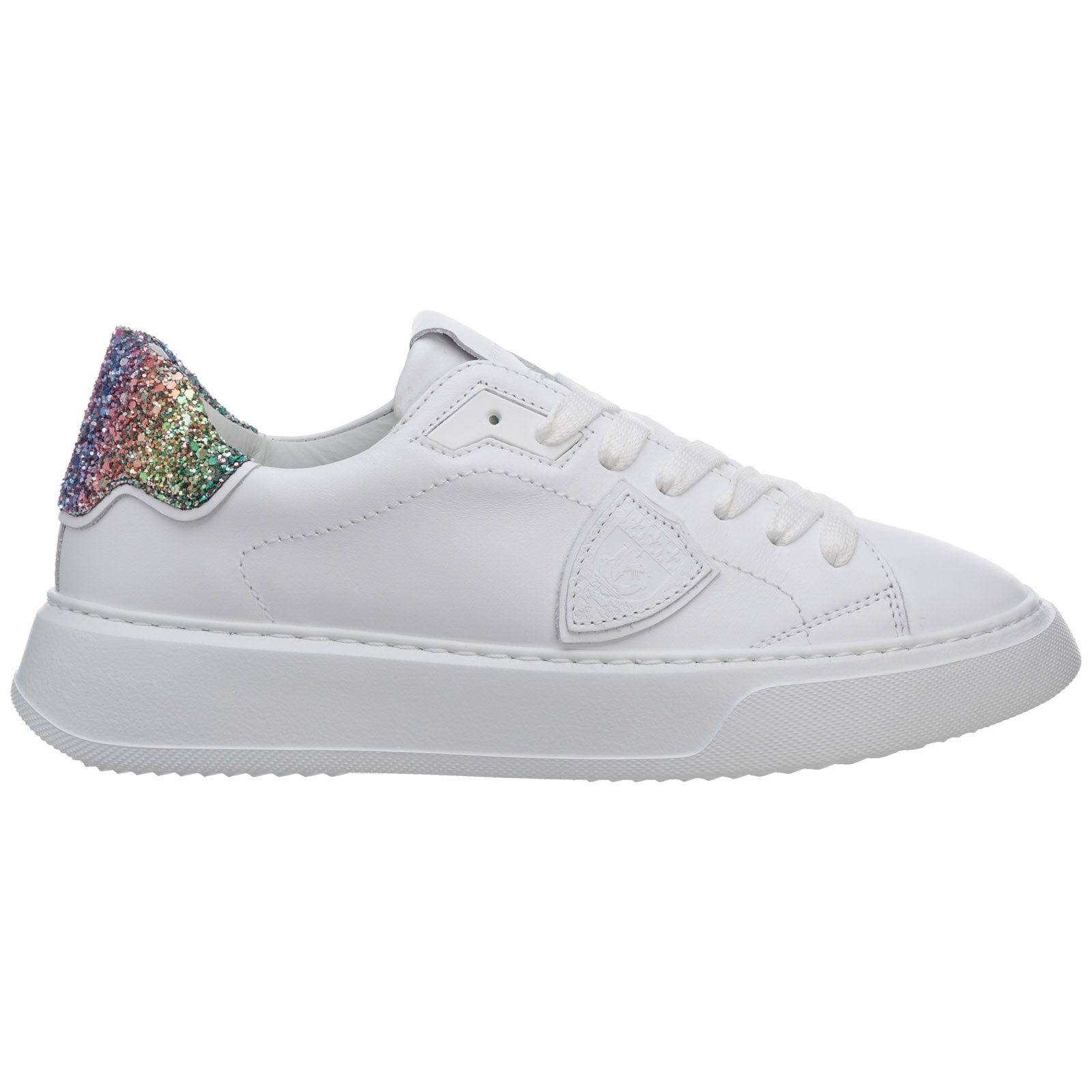 Philippe Model WOMEN'S SHOES LEATHER TRAINERS SNEAKERS TEMPLE
