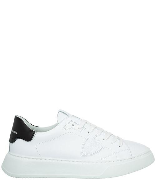 Sneaker Philippe Model temple a10ibtluv007 blanc / noir