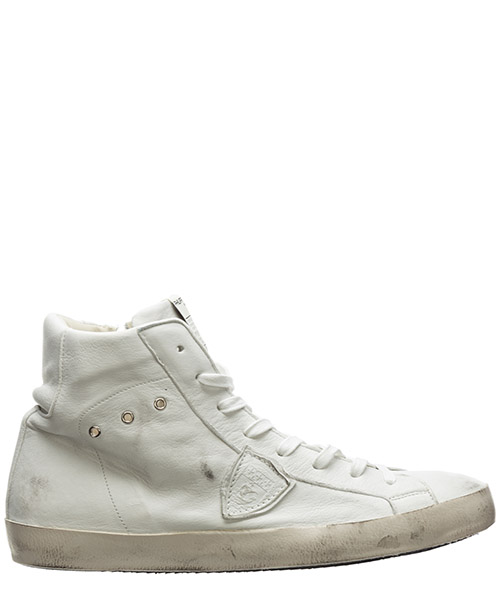 High-top sneakers Philippe Model paris a10eclhuww25 west blanc