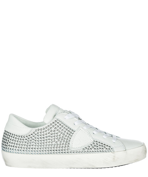 Turnschuhe Philippe Model Paris CLLDSS02 full blanc