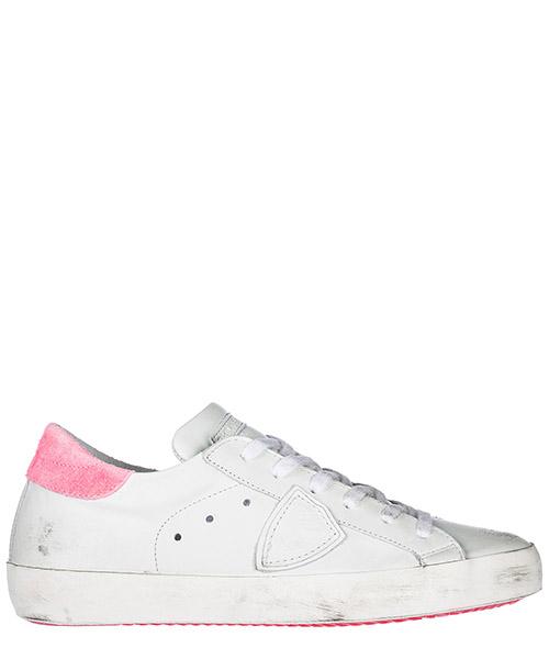 Sneakers Philippe Model paris clldvn05 blanc / fuxia