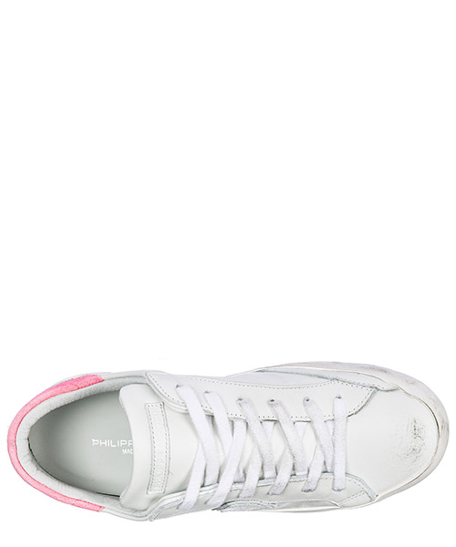 Women's shoes leather trainers sneakers paris secondary image