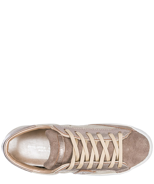 Scarpe sneakers donna camoscio paris secondary image