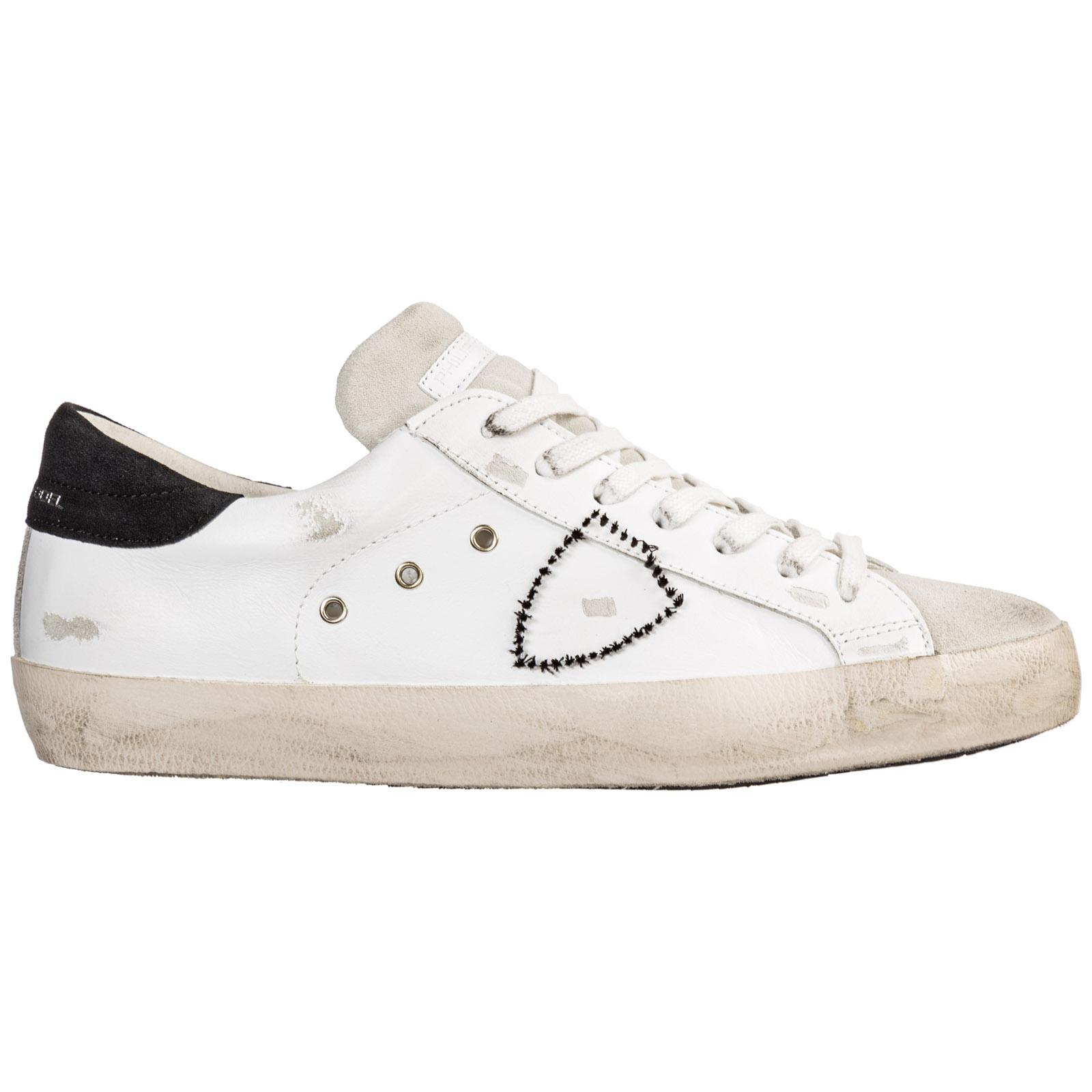 more photos 10d84 a2686 Scarpe sneakers uomo in pelle paris
