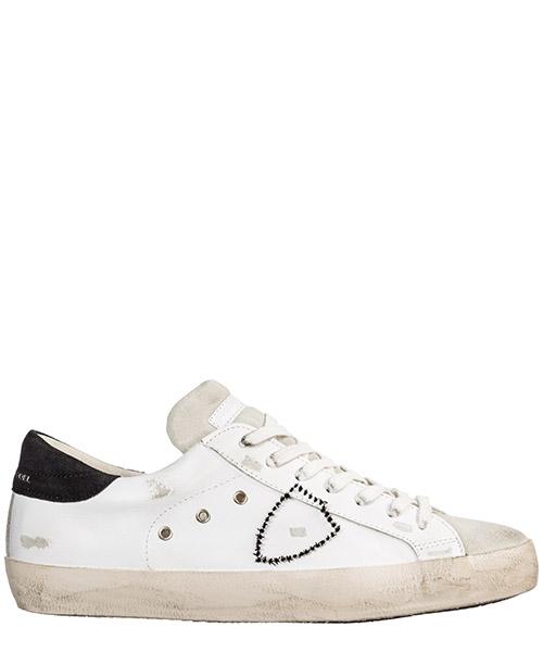 Sneakers Philippe Model Paris A19ICLLUVX34 blanc gris