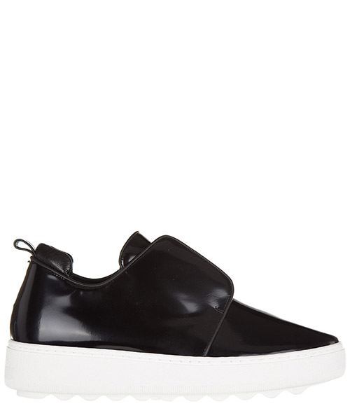 Slip on femme en cuir sneakers  morning bombay