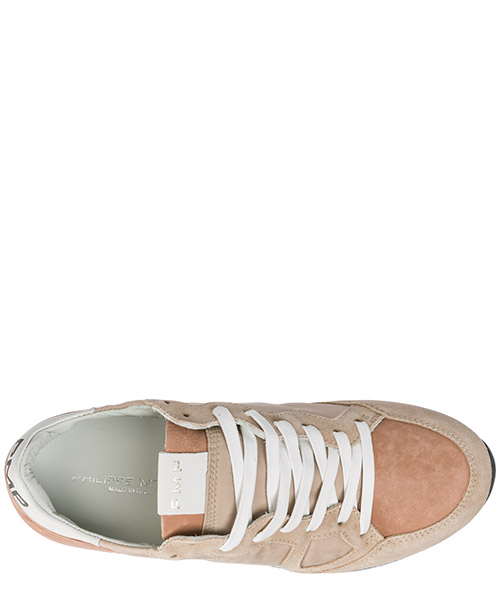 Women's shoes suede trainers sneakers monaco secondary image