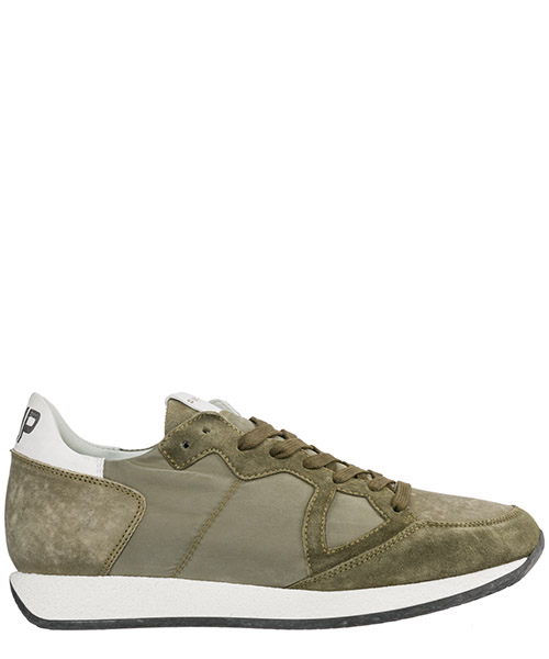 Men's shoes suede trainers sneakers monaco vintage