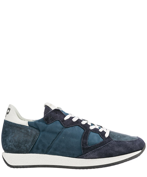 Men's shoes suede trainers sneakers monaco