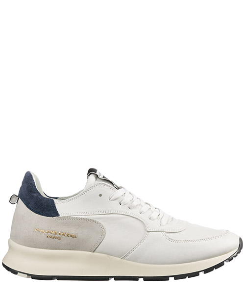 Men's shoes leather trainers sneakers montecarlo