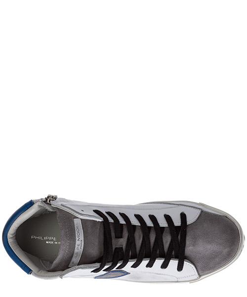Herrenschuhe herren leder schuhe high sneakers prsx secondary image