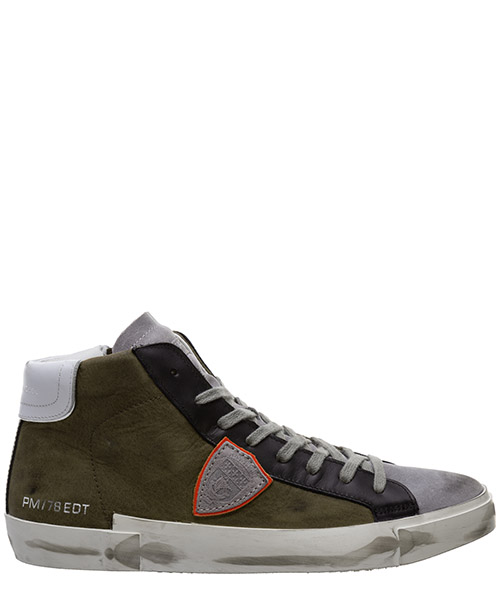Sneaker high Philippe Model prsx a10iprhuxw03 militaire