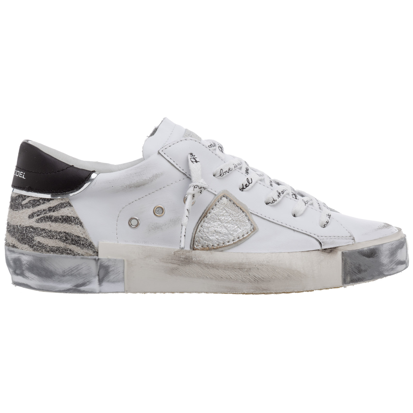 Philippe Model WOMEN'S SHOES LEATHER TRAINERS SNEAKERS PRSX