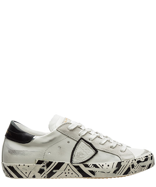 Sneaker Philippe Model paris a10eprldtr02 bianco
