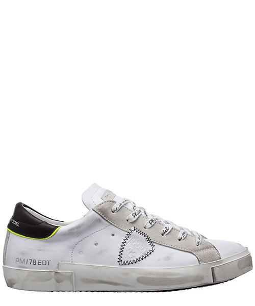 Sneakers Philippe Model prsx A10IPRLUVB07 blanc / noir