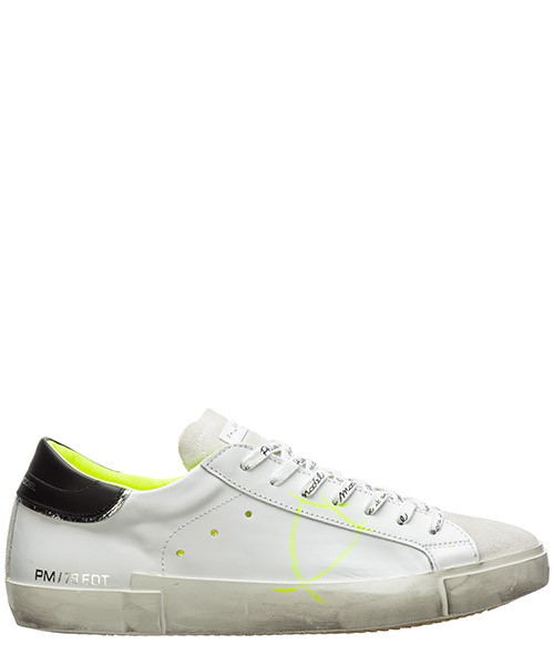 Sneaker Philippe Model paris a10eprluvf04 bianco