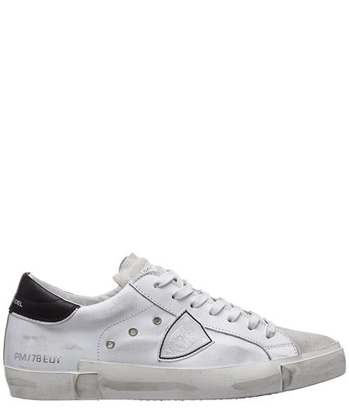 Sneaker Philippe Model PRSX A10IPRLUVS03 blanc / noir