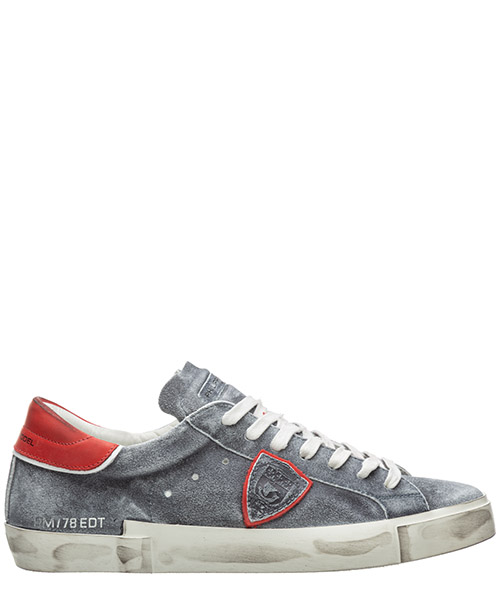Sneaker Philippe Model paris a10eprluwl01 grigio