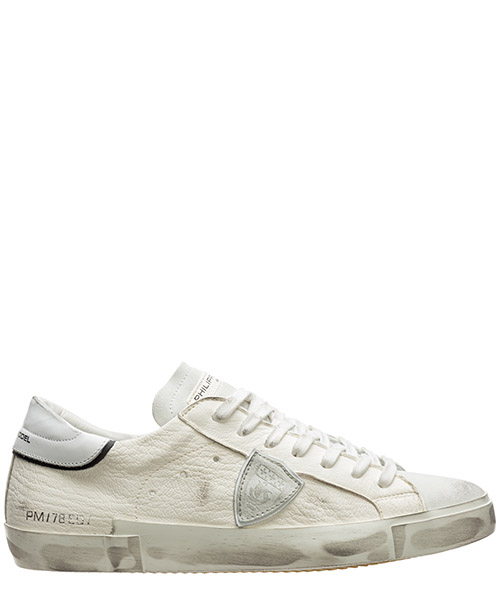 Sneaker Philippe Model paris a10eprluwx01 bianco
