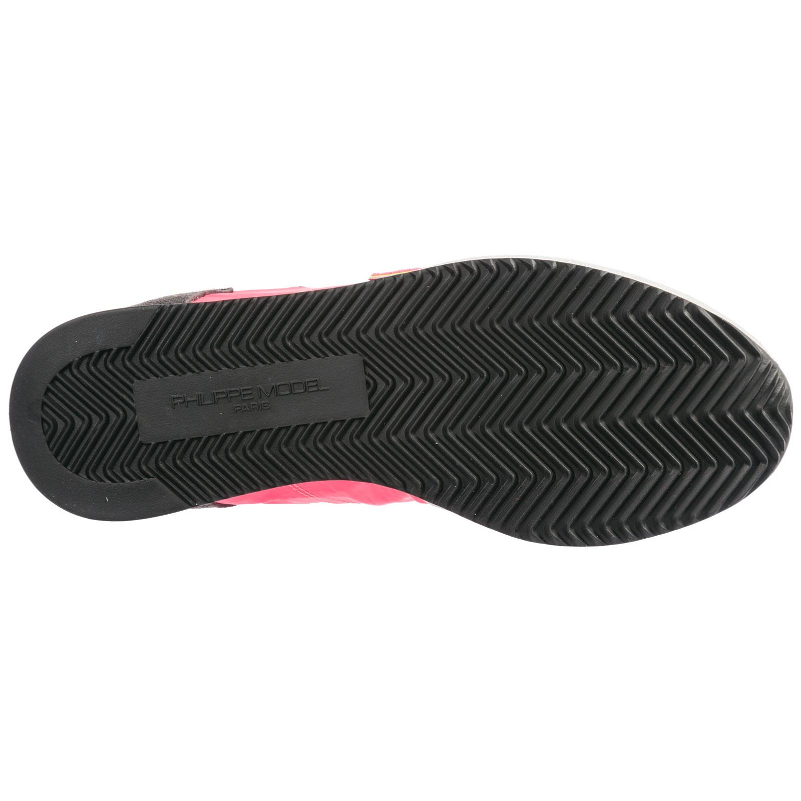 Sneakers Philippe Model Tropez A19ETRLDN001 jaune fucsia  152f627ebb2