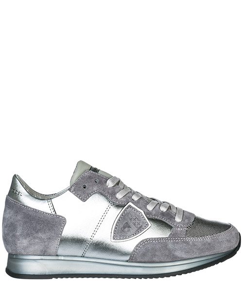 Sneakers Philippe Model Tropez TRLDME02 argento