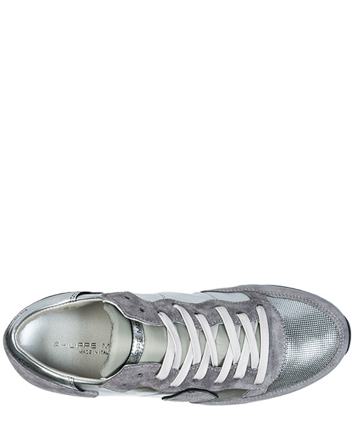 Women's shoes suede trainers sneakers tropez secondary image