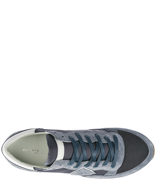 Men's shoes suede trainers sneakers tropez secondary image